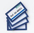 Display Frame samolepicí rámeček 80 x 45 mm, 4 ks - modrý