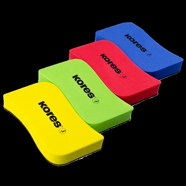 Kores Magnetická stírací houbička na bílé tabule - mix barev