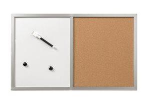 Herlitz Nástěnka kombi magnetická/korková 40 × 60 cm