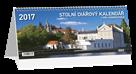 Kalendář stolní diářový 2017 - Praha