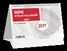 Kalendář stolní mini 2017