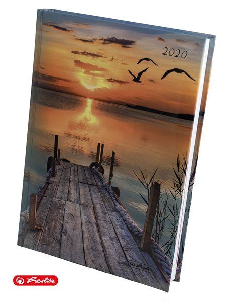 Herlitz Diář 2020 A5 denní - Molo