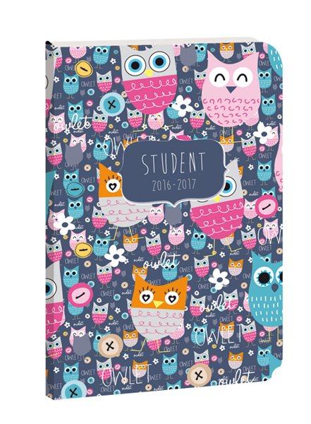 Školní diář Student Owlet
