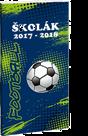 Školní diář školák 2017/18 Football 2