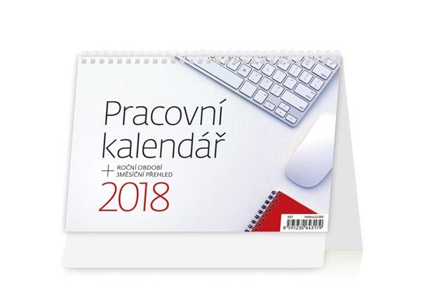 Kalendář stolní 2018 - Pracovní - 211 x 148 mm