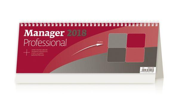 Kalendář stolní 2018 - Manager Professional - 336 x 121 mm