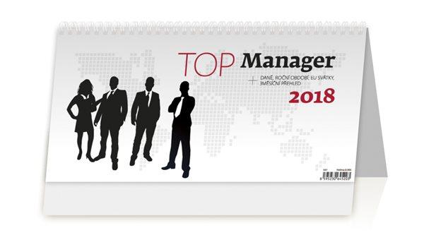 Kalendář stolní 2018 - Top Manager - 32x16 cm