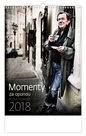 Kalendář nástěnný 2018 - Momenty za oponou