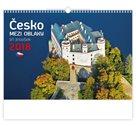 Kalendář nástěnný 2018 - Česko mezi oblaky