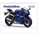 Kalendář nástěnný 2018 - Motorbikes