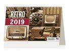 Kalendář stolní 2019 - Retro