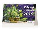Kalendář stolní 2019 - Zdraví z přírody