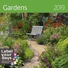 Kalendář nástěnný 2019 Label your days - Gardens