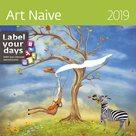 Kalendář nástěnný 2019 Label your days - Art Naive