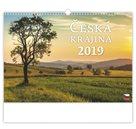 Kalendář nástěnný 2019 - Česká krajina