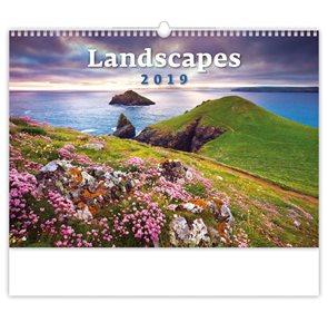 Kalendář nástěnný 2019 - Landscapes