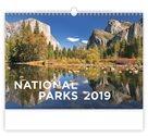 Kalendář nástěnný 2019 - National Parks