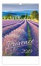 Kalendář nástěnný 2019 - Provence