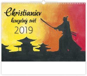 Kalendář nástěnný 2019 - Christianův kouzelný svět