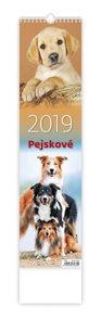 Kalendář nástěnný 2019 - Pejskové