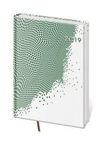 Diář 2019 denní A5 Vario - Green