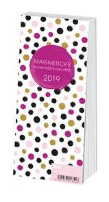 Stil Trhací magnetický kalendář 2019 týdenní - Dots