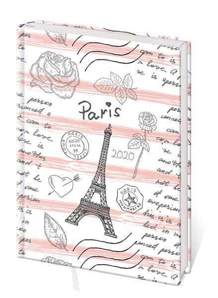 Stil Diář 2020 LYRA A5 denní - Paris