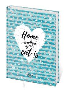 Stil Diář 2020 LYRA B6 týdenní - Home