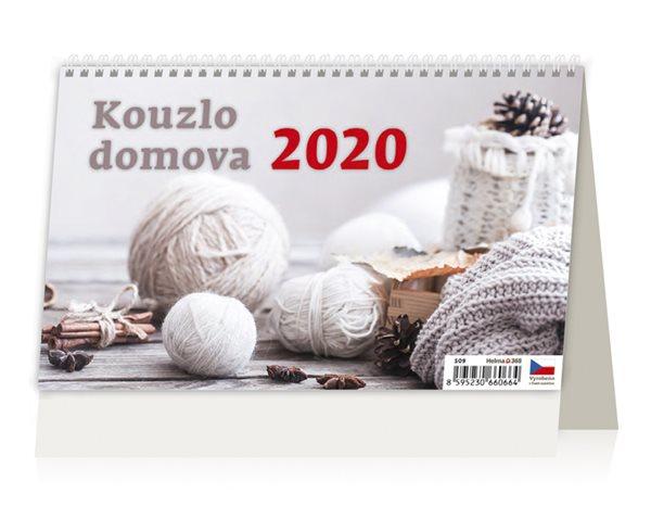 Kalendář stolní 2020 - Kouzlo domova