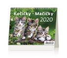 Kalendář stolní 2020 - Minimax Kočičky/Mačičky