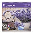 Kalendář nástěnný 2020 Label your days - Provence