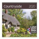 Kalendář nástěnný 2020 Label your days - Countyside