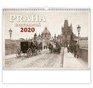 Kalendář nástěnný 2020 - Praha historická
