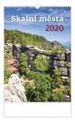 Kalendář nástěnný 2020 - Skalní města