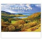Kalendář nástěnný 2020 - Landscapes