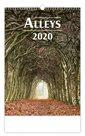 Kalendář nástěnný 2020 - Alleys