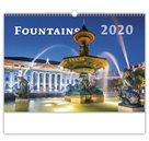 Kalendář nástěnný 2020 - Fountains