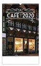 Kalendář nástěnný 2020 - Cafe