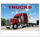 Kalendář nástěnný 2020 - Trucks