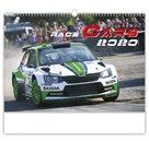 Kalendář nástěnný 2020 - Race Cars