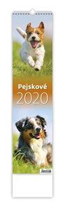 Kalendář nástěnný 2020 - Pejskové
