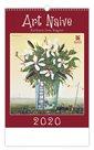 Kalendář nástěnný 2020 - Art Naive