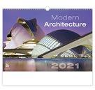 Kalendář nástěnný 2021 Exclusive Edition - Modern Architecture