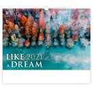 Kalendář nástěnný 2021 Exclusive Edition - Like a Dream
