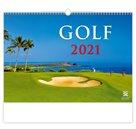 Kalendář nástěnný 2021 Exclusive Edition - Golf