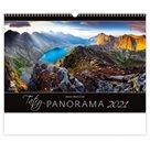 Kalendář nástěnný 2021 Exclusive Edition - Tatry Panorama