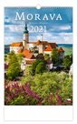 Kalendář nástěnný 2021 - Morava/Moravia/Mahren