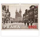 Kalendář nástěnný 2021 - Praha historická