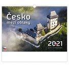 Kalendář nástěnný 2021 - Česko mezi oblaky