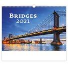 Kalendář nástěnný 2021 - Bridges